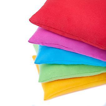 Pack résistant à l'eau des couleurs assorties de 4 sacs de haricots jonglants pour le jeu extérieur