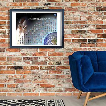 NASA - Mission Patch Poster Poster Print Giclee