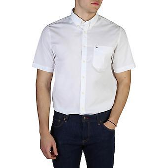 Tommy Hilfiger Original Hommes Printemps/Été Shirt - Couleur Blanche 40671