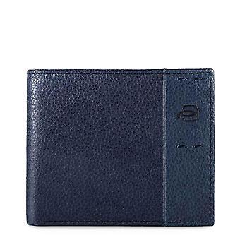 Piquadro Original Men All Year Wallet - Blue Color 55438