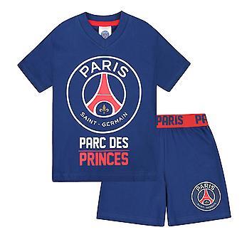 PSG Official Football Gift Boys Short Pyjamas