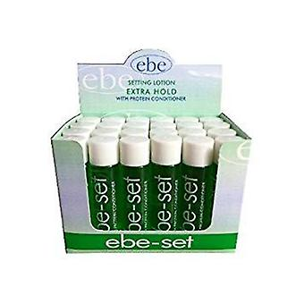 Ebe set with protein extra hold green 24 x 20ml