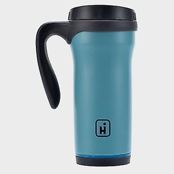 Nueva taza de acero inoxidable hi-gear (0,5 litros) Azul cielo