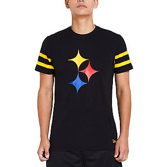 New Era ELEMENTS Shirt - NFL Pittsburgh Steelers black