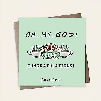 Cardology Friends Tv Show Oh. My. God! Congratulations! Greeting Card