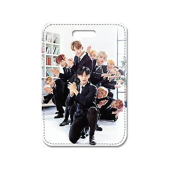 K-pop On yedi büyük çanta kolye