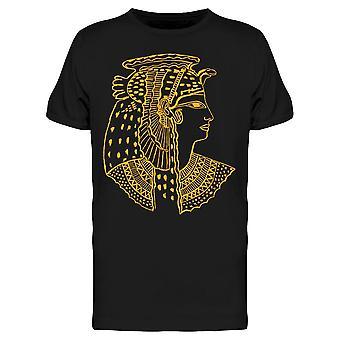 Forntida egyptiska Gold Cleopatra Tee Men & apos; s -Bild av Shutterstock