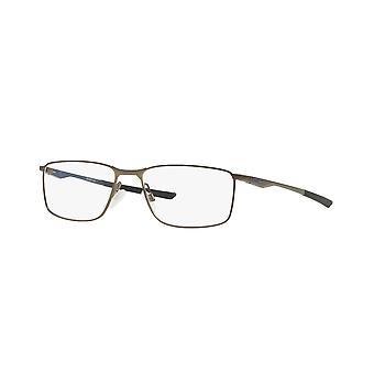 Oakley Sockel 5.0 OX3217 08 Satin Zinn-Poisedon Blaue Gläser