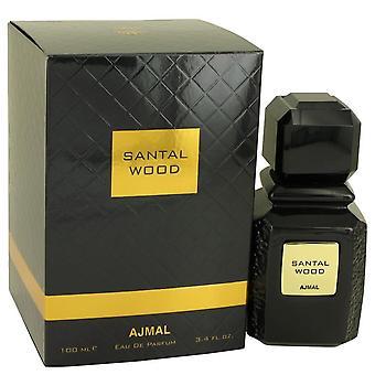 Santal legno Eau De Parfum Spray (Unisex) di Ajmal 3.4 oz Eau De Parfum Spray