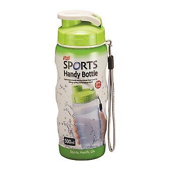 Lock & Lock Sport Handy Flasche mit Tragegurt