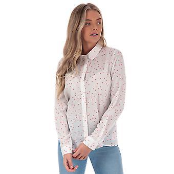Frauen's Vero Moda Maya Effie Shirt in weiß