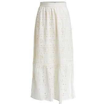 Oui Cream Anglaise Maxi Skirt