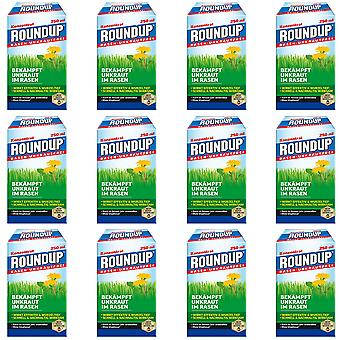 Sparset: 12 x ROUNDUP® Lawn Weed- Free, 250 ml