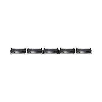 RudyTwos 5 x korvaus HP 26A värikasetti yksikön musta yhteensopiva Monitoimilaitteen M426dw, LaserJet Pro M402d, M402n, M402dn, M402dw, M426fdw, M426fdn