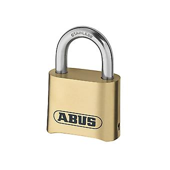 ABUS 180IB/50 50mm Brass Body Combination Padlock (4-Digit) Carded ABU180IB50C
