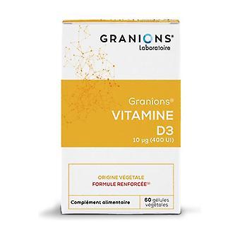 Vitamin D3 10µg 60 capsules