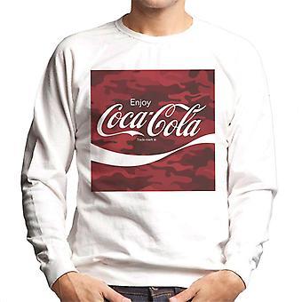 Coca Cola Camo miesten ' s College pusero