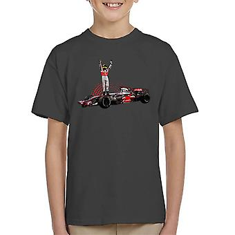 Motorsport Images Lewis Hamilton 2014 Wembley Kid's T-Shirt