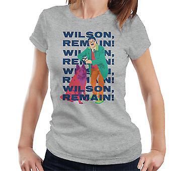 Friday Night Dinner Wilson Remain Women's T-Shirt