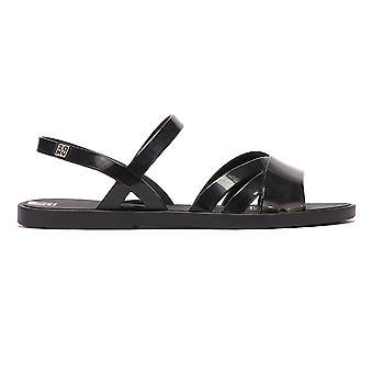 Zaxy Flow Womens Black Sandals