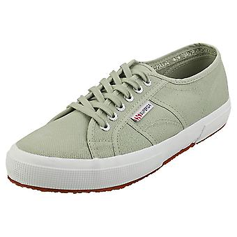 Superga 2750 Cotu Classic Mens Casual Trainers in Green