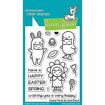 Lawn Fawn Easter Party Clear Stamps