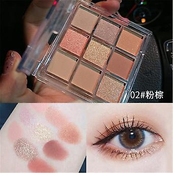 Øjenskygge Palet pigmenteret pulver skønhed makeup