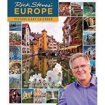 2021 Rick Steves Europe PictureADay Wall Calendar by Steves & Rick