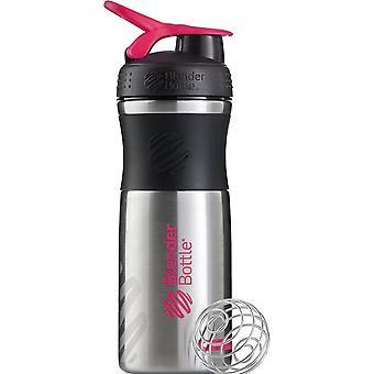 Blender Bottle SportMixer Stainless Black Teal 820 ml