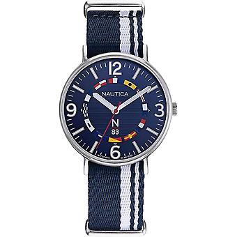 NAPWGS902, Nautica Wave Garden Relojes para Hombre -Azul