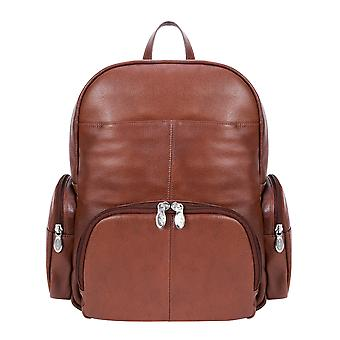 """88364, S Series Cumberland 15"""" Leather Dual Compartment Laptop Backpack"""