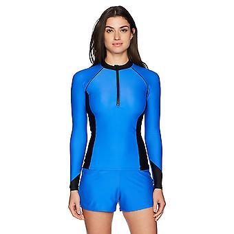 Brand - Coastal Blue Women's Badkläder Bikini Botten, Sapphire, M (8-10)