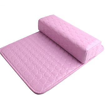 Soft Pu Leather Cushion -arm Rest Pillow For Manicure And Nail Art