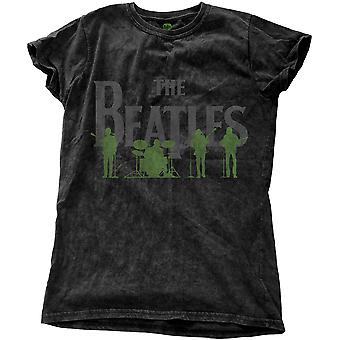 Ladies The Beatles Saville Row Line-Up Official Tee T-Shirt Female