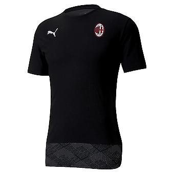 2020-2021 AC Milan Casuals Tee (svart)