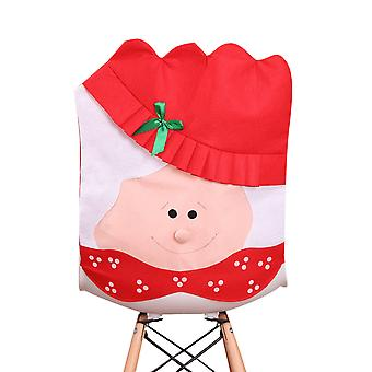 يانغفان عيد الميلاد سانتا عشاق كاب كرسي مقاعد يغطي