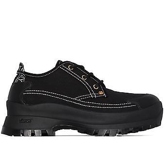 Stella Mccartney Ezcr022009 Women's Black Fabric Sneakers