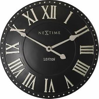 NeXtime 3083zw London Roman [Ø34.5 cm, Zwart/Wit]
