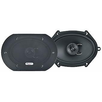 Lautsprecherset Zwei-Wege-Koaxial X572 450W schwarz