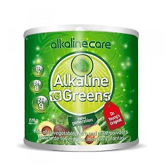 Alkaliska hand alkaliska hand gröna 220 gr
