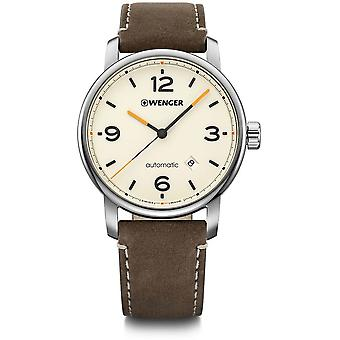 Wenger - Wristwatch - Men - Urban Metropolitan - 01.1746.101 - cream (beige), 42 mm