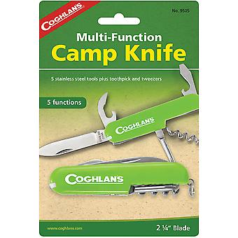 Coghlan's Multi-Function Camp Knife, 5 Funções, Army Camping Swiss Style