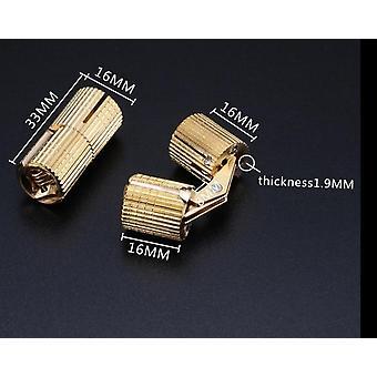 Charnières en cuivre pur, armoire cachée cachée cylindrique, invisible