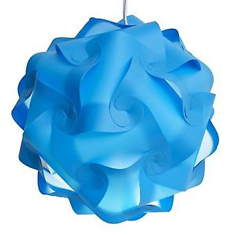 Creative Puzzle Lampshade Modern Jigsaw Light Lamp Cover Ceiling Chandelier