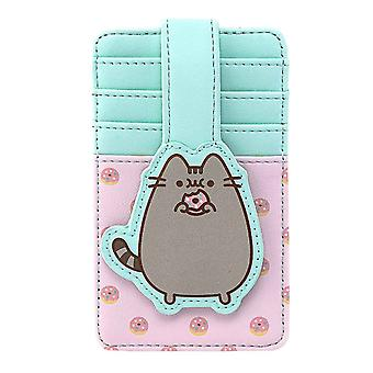 Pusheen Cardholder Big Kitty Donuts Logo new Official Loungefly