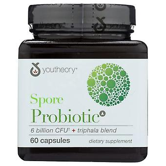 Youtheory Spore Probiotic Advanced, 60 Caps