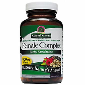 Nature's Answer Female Complex, 90 Vcaps