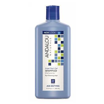 Andalou Naturals Argan Stem Cell Age Defying Shampoo, 11.5 OZ