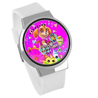 Nepremokavé svetelné LED digitálne dotykové detské hodinky - PAW Patrol #19