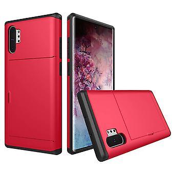 Plånboks fodral för Samsung Galaxy J7 Röd weiluosi-161